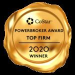 Powerbroker Award Top Firm 2020 Winner